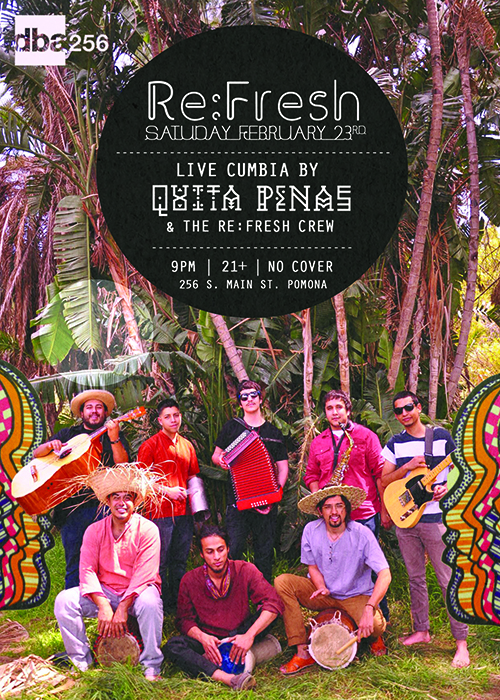 Beats of All-Nations presents Quita Penas Live at Re:Fresh