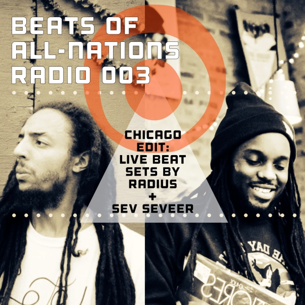 Beats of All-Nations Radio Episode 003 Artwork