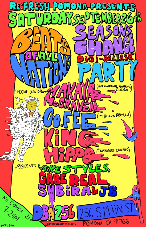 Beats of all nations flyer